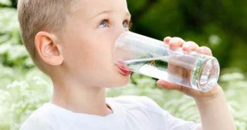 agua y niñez